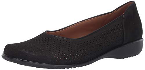 ARA Women's Loafer Flat, Black, 9