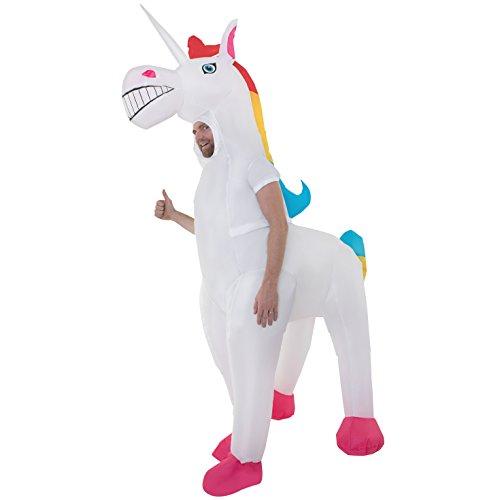 Unicornio Inflable Disfraz Adulto Del Caballo Mágico Disfraces Trajes Para Mujer Y Hombre