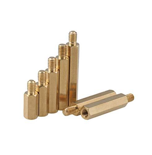 Ingangsmoerzuil, moederbord-houderzuil isolatiezuil koperen bouten met enkele kop M2,5 * 19 + 6 [5 Gélules]