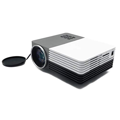 Proiettore, 480 * 320dpi - adatto for la casa o bambini in età prescolare all'istruzione - bianco e nero - funzione di base - disponibile in 3 taglie -17x14.3x7cm 11-25 ( Color : Black , Size : US )