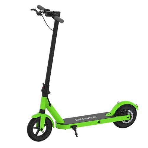 Denver Sco-85350 Elektro-Scooter, Unisex, Erwachsene, Unisex, grün, 350W