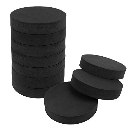 10 almohadillas antivibración para lavadora, almohadillas absorbentes de golpes para lavadora y secadora, para lavadora, secadora, cinta de correr (redonda)