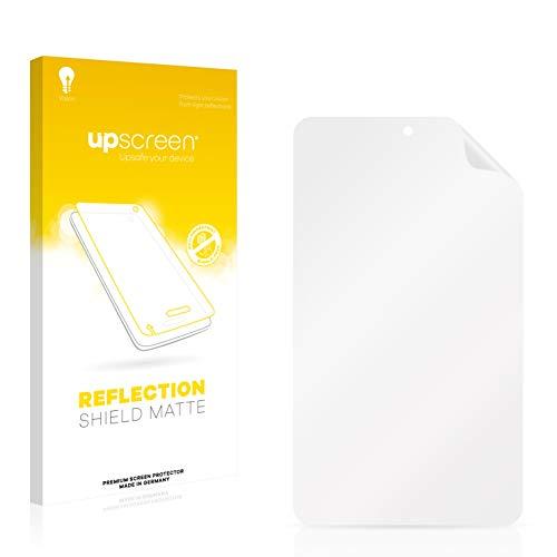 upscreen Entspiegelungs-Schutzfolie kompatibel mit irulu eXpro X1S (8.1) Plastic Rear – Anti-Reflex Bildschirmschutz-Folie Matt