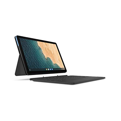 Lenovo IdeaPad Duet 25,7 cm (10,1 Zoll) Full HD Touch 2in1 Chromebook (MediaTek P60T, 4GB RAM, 128GB Flash-Speicher, Webcam, Chrome OS)