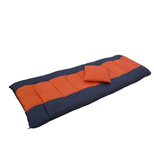 Sac De Couchage En Plein Air Yy.f Camping Enveloppe Voyage Léger Portable Imperméable Confortable Randonnée Activités De Plein Air,Orange-190*75cm