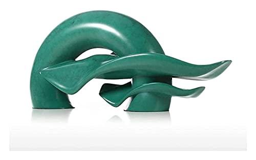 LXRZLS Escultura de Escritorio Escultura Natural Resina Escultura Crafts Modelo Estatuas Accesorios para el hogar Adornos Oficina Decoración Accesorios Regalos Regalos Coleccionistas Estatuillas