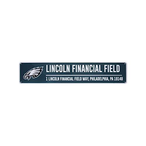 FOCO Philadelphia Eagles NFL Stadium Street Sign
