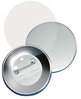 "Badge-A-Minit 3711-C 3"" Genuine Badge-A-Minit Pin-Back Button Sets - 100 Sets"