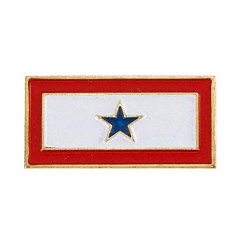 Buy Discount US Flag Store PIMILSLP Service Star Lapel Pin, Red, White, Blue, Gold