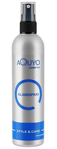 Glanzspray für Haare, Hair Spray verleiht dem Haar Glanz und macht es geschmeidig (200ml) | Haarspray gegen Frizz und Spliss, Shine Hair Spray zum Finish der Haare mit fruchtigem Duft