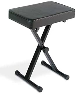 Yamaha PKBB1 Adjustable Padded Keyboard X-Style Bench,...