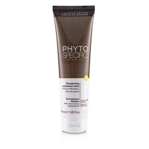 Phyto Shampoo, ultra-feuchtigkeitsspendend, für krauses Haar, feuchtigkeitsspendend, natürliches Haar, besonders feuchtigkeitsspendend, entwirrend, ohne Silikone, 150 ml