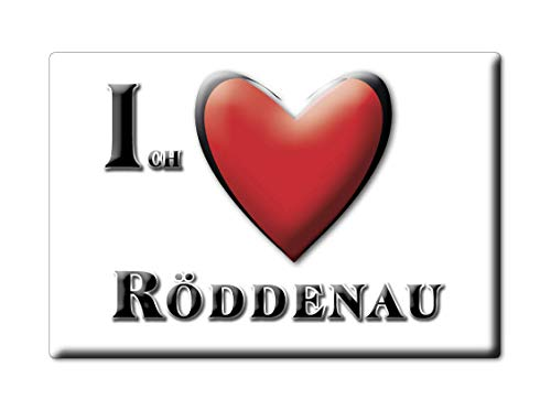Enjoymagnets RÖDDENAU (HE) Souvenir Deutschland Hessen Fridge Magnet KÜHLSCHRANK Magnet ICH Liebe I Love
