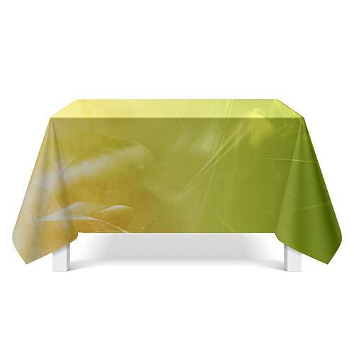 DREAMING-Leichte Textur Stoff Tischdecke Home Tischdecke Tv-Schrank Couchtisch Stoff Runde Tisch Tischset 85cm * 85cm