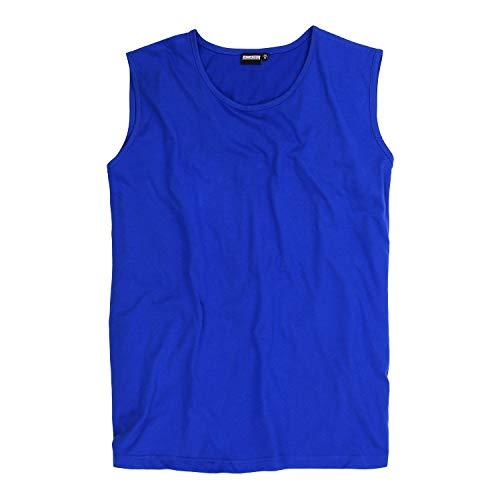 Muskelshirt im Doppelpack I Tank Top I City-Shirt I100{9763567b1fc97852209ffa1e05192a92cabbcef4d2339404585862cdf8db0937} Baumwolle in Übergrößen XXL bis 12XL, Größe:6XL, Farbe:340 Royalblau
