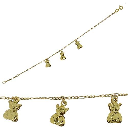 Kettler Goldarmband in 333/- (8k) Gelbgold 9900190000 Bär