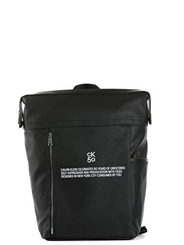 Calvin Klein CKJ 50 SQUARE BACKPACK BDS Black K50K505538BDS