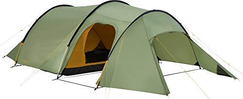 Nordisk - Oppland PU vielseitiges Zelt, windresistent, wasserdicht, Tunnelkonstruktion, Nylon Rip Stop mit Polyurethan Beschichtung, UV 45+ Filter, 3-Personenzelt, Grün/Dusty Green