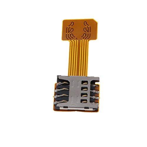 MagiDeal Micro USB Câble Adaptateur Extendeur Carte SIM Prolongateur pour Téléphone Portable - Color #1