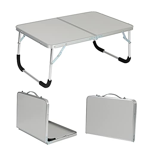 Mesa Plegable portátil para Exteriores, Acampada, Picnic, aleación de Aluminio, Escritorio para computadora portátil, Mesa para computadora, Resistente al Agua, Ultraligera, l3, Rosa