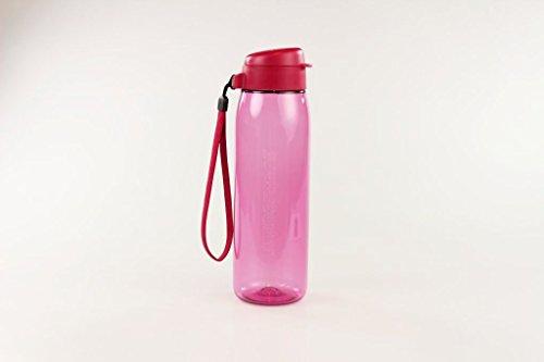Tupperware To Go Eco Fresh 16480 - Botella ecológica con cinta (750 ml), color rosa