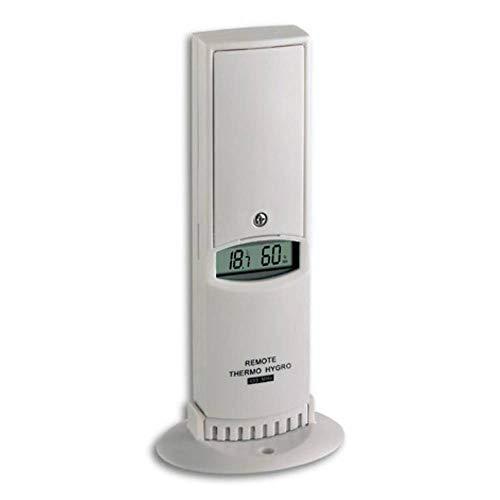 TFA Dostmann Thermo-Hygro-Sender/Aussensender, 30.3125, mit Display, kabellose Übertragung