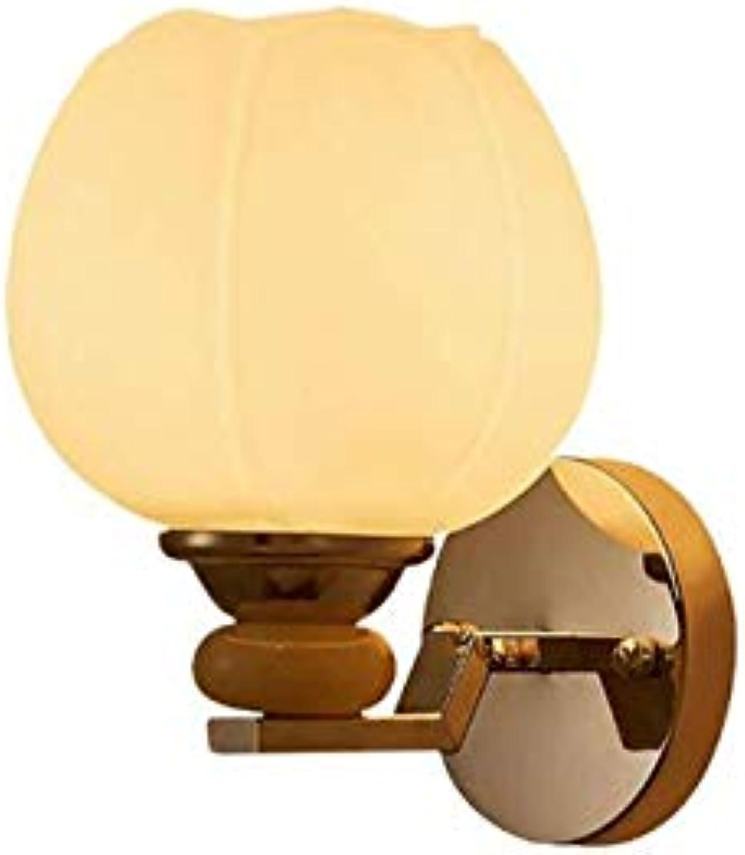 Wandleuchte, LED Moderne Minimalistische Schlafzimmer Nachttischlampe Kinderzimmer Schlafzimmer Mdchen Nachttischlampe Persnlichkeit Niedlich (Farbe   Weiß)