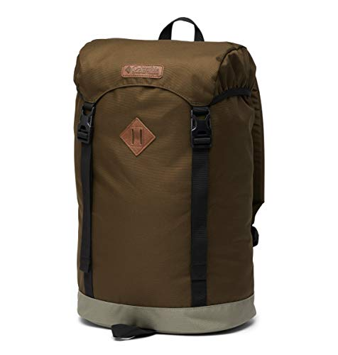 Columbia Sac à Dos, Classic Outdoor 25 L, Couleur : Olive Green, Stone Green, Art. Num : 1719891