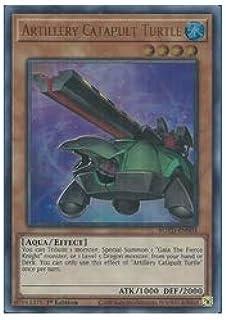 英語版(北米版) 茶 Artillery Catapult Turtle(U)(1st)(砲撃のカタパルト・タートル)