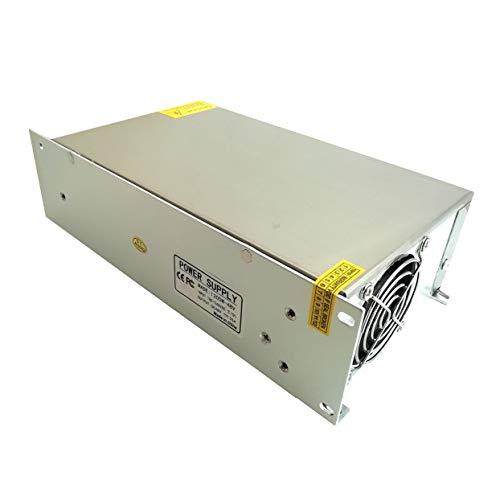 48V 20A 1000W Schaltnetzteil Treiberanzeige Schaltnetzteil 48V für LED-Lichtleiste - Schwarz