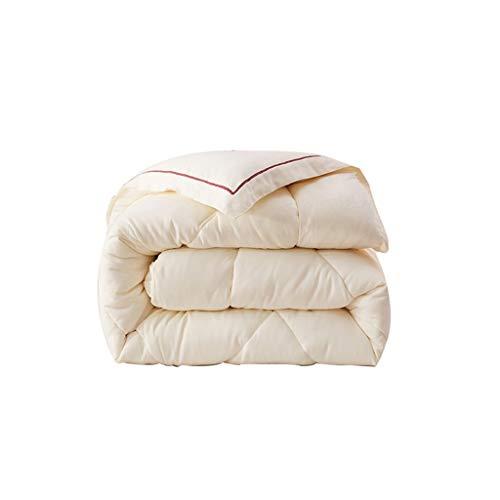Adultos Edredones -CDingQ All Season algodón acolchado, Individual / Doble Cama mullido edredón suave de fibra superfina Duvet Hotel Quality Forros prevenir la alergia Edredones SIN Fundas de Almohada