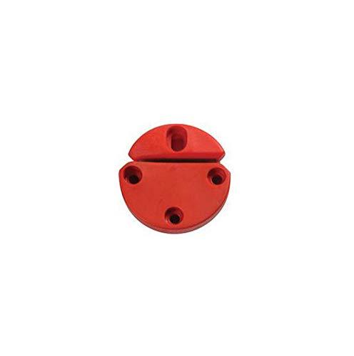 Gamma Technisches Equipment Rundspannkopf rot Tennis Besaitungsmaschine Rot