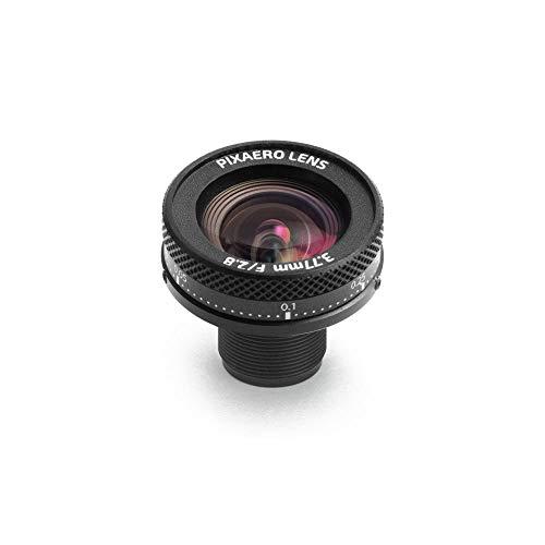 3.77mm Low Distortion 80 Degree Manual Focus Pixaero Lens for YI 4K/4K+