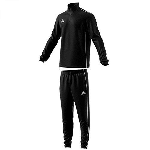 adidas Herren Trainingsanzug Core 18 Black/White M