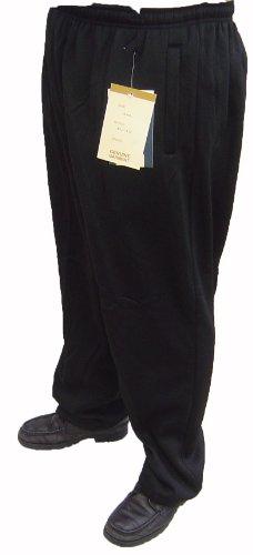 Boston Big Jogger Pantalon Polaire complète Fit Tailles avec Poches 3 x l 4 x L 5 x l 6 x l - Noir - XXXXL