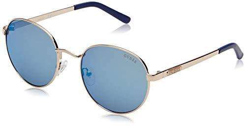 Guess GU7363 32X 54 Monturas de gafas, Dorado (OroBlu Specchiato), 54.0 Unisex Adulto