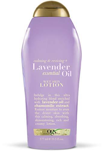 OGX Calming & Reviving Lavender Essential Oil Lotion 19.5 Pack of 4