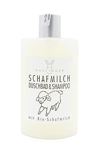 HASLINGER Sheepmilk Shampoo e Shover Gel, 200 g