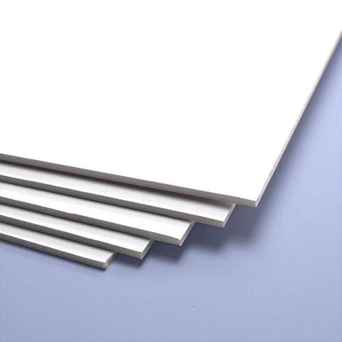 Cartón Pluma 3 mm blanco, 50x70 cm (unidad)
