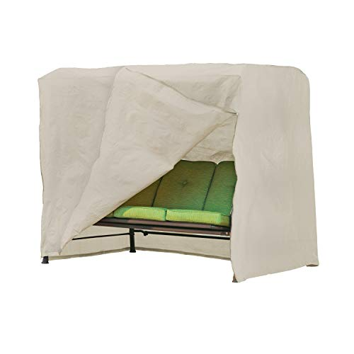 Unknown1 Basics Outdoor Patio Swing Cover 87' w X 64' d 66' h Beige Polyester Blend Water Resistant