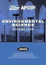 2003 AP Environmental Science Released Exam