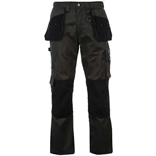 Dunlop Herren On Site Hose mit Taschen Arbeitshose Khaki XX Large
