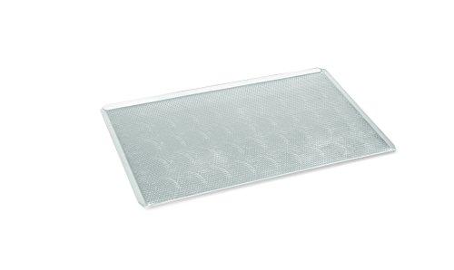 Backblech aus Aluminium - 3 mm Perforierung, schräg zulaufende Kanten / A1 - GN 1/1: 53 x 32,5 x 1,5 cm / A2 - Abm.: 60 x 40 x 2 cm (GN 1/1 - Abm.: 53 x 32,5 x 1,5 cm)
