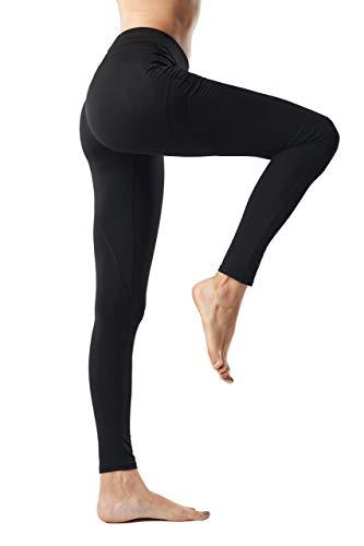 AllureSports Yoga Pantalon pour Femme séance d'entraînement d'exercice Running Power Stretch Legging Butt Push-up Minceur Fitness Collants pour Femme Marche Vêtements de Sport