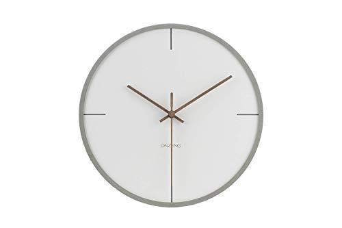 ONZENO® Design Wanduhr \'The Mature.\' ohne Tickgeräusche