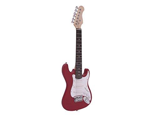 Dimavery J de la 350 y de la Guitarra eléctrica ST roja