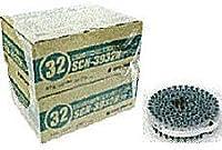 ロール連結ネジ SCN39-32N グリーン ノンクロム表面処理・薄鋼板兼用型 100本×20巻×2箱 認定品