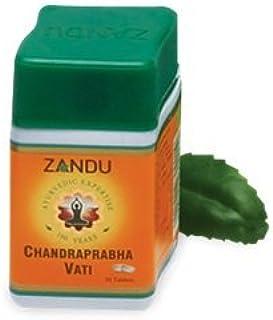 عبوة من 3 أقراص Zandu chandraprabha 40 قرص لكل منها (40 تبويب × 3 حزم)