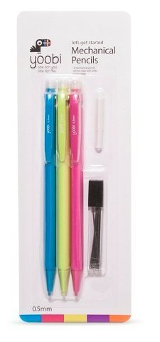Let's Get Started Mechanical Pencils by Yoobi