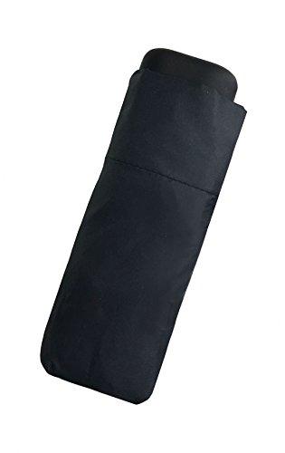 VIPLUIE Mini Parapluie Pliant Noir- Léger et Compact-...
